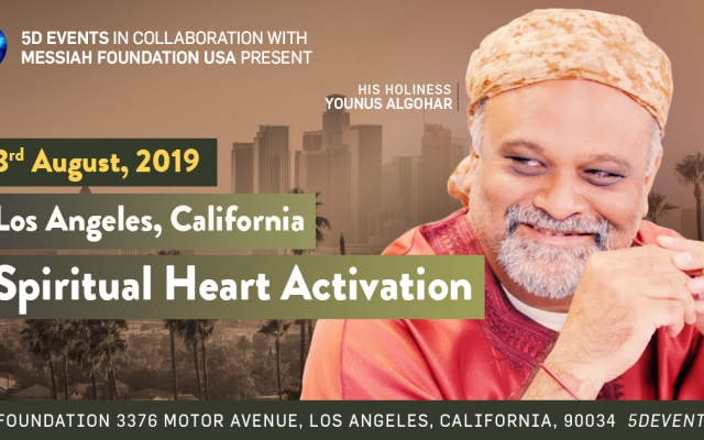3 August: Spiritual Heart Activation in Los Angeles
