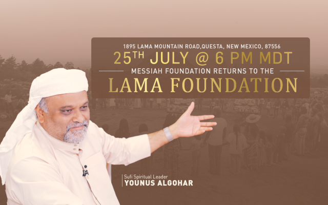 25 July: MFI Returns to the Lama Foundation After 22 Years