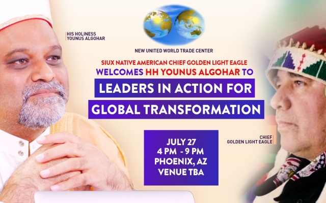 27 July: Leaders in Action for Global Transformation