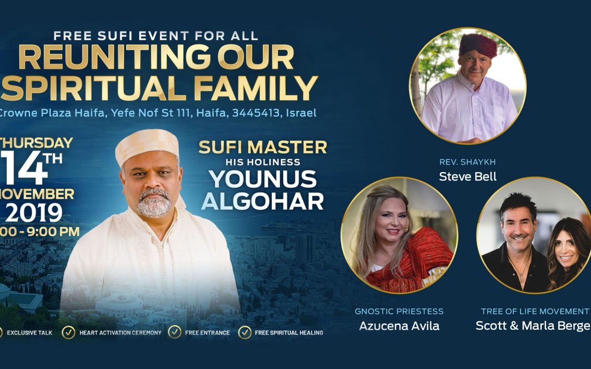 Reuniting Our Spiritual Family – Haifa, Israel