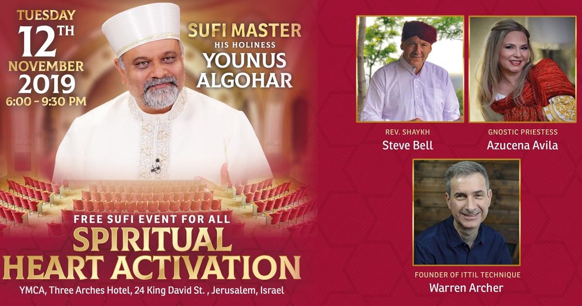 Spiritual Heart Activation – Jerusalem, Israel