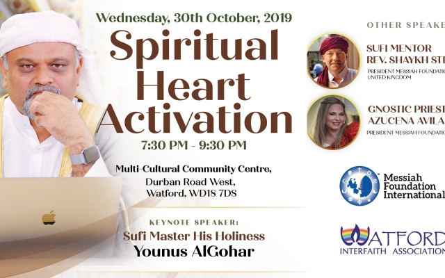 Watford Spiritual Heart Activation